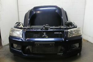 Jdm Mitsubishi Evolution 7 8 Ct9a 4g63 Front End Conversion Only Blue Nosecut
