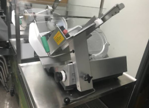 Commercial Bizerba Automatic Manual Meat Cheese Slicer restaurant