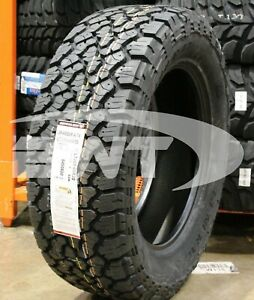 2 New General Grabber A Tx 125s 50k Mile Tires 2856020 285 60 20 28560r20