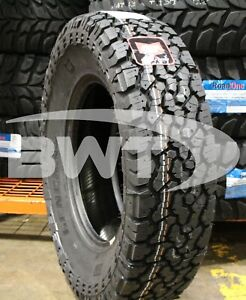 6 New General Grabber A Tx 120r 50k Mile Tires 2358017 235 80 17 23580r17