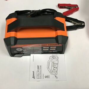 Ampeak 2 8 15a 12v Smart Battery Charger maintainer Automatic With Winter Mode