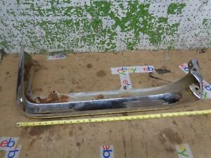 1960 Ford Thunderbird Left Rear Bumper Upper Face Bar 1958 1959 Tbird T bird Oem