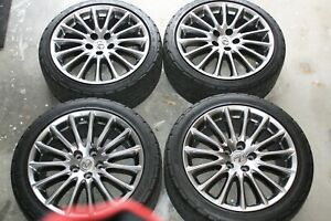18 Lexus Is350 Isp Mode Oem Wheels And Tires Set Of 4