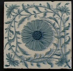 Aesthetic Movement Tile Mintons China Works C1905