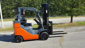 2014 Toyota 8fgc35u bcs Forklift Truck 199 Side Shift New Paint Low Hour
