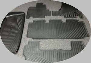 2011 2017 Oem Honda Odyssey All Weather Floor Mats And Cargo Tray