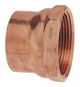 2 Inch Copper Fittings Lot Of 13 Adapters Elbows Couplings