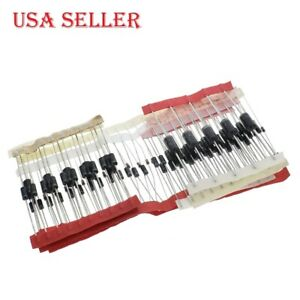 100pcs lot Fast Switching Schottky Diode Rectifier Diode Kit Set 8 Type Pack