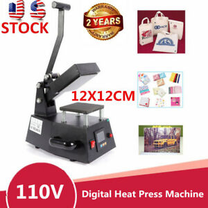 Heat Press Machine Digital Sublimation T shirt Mug Hat Transfer Printer