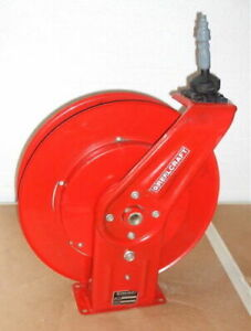 Reelcraft Retractable Hose Reel With 50 Hose
