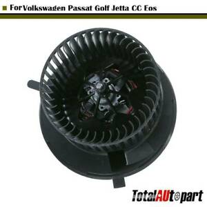 A c Heater Blower Motor W Wheel For Volkswagen Passat Tiguan Golf Jetta Cc Eos