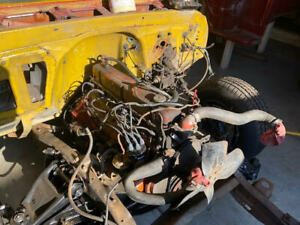 Chevrolet Chevy 250 Inline 6 Engine And Transmission 3 Speed