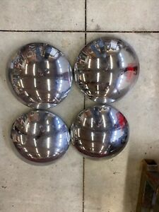 Porsche 356 Moon Hubcaps For 15 Open Wheel