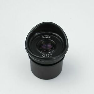 Olympus G 15x Eyepiece For Stereo Zoom Microscopes 30mm