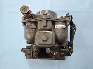 Porsche 356 Zenith Carburetor For Parts Or Rebuild 32mm 5 58