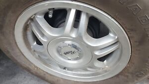 Pacer 13 Inch 12 Spoke Wheel Rim Universal Alloy With Tires P185 80r13 No Caps