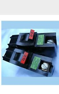 2 Federal Pacific american Single Pole 20 A 120v Thick Breakers Na120