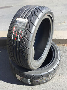 New Old Stock Tires Yokohama P225 45r17 P255 40r17 Staggered Summer