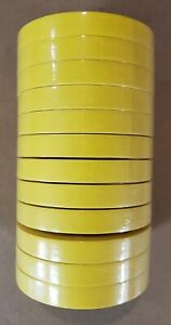 3m 06652 Yellow Automotive Refinish Masking Tape 3 4 Inch 12 Rolls