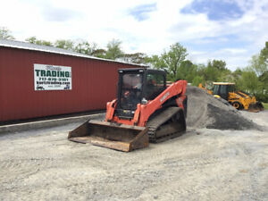 2018 Kubota Svl95 2s Compact Track Skid Steer Loader Cab 2spd High Flow 2300hrs