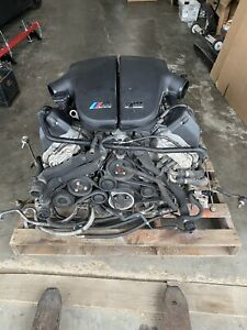 06 10 Bmw M5 M6 E60 E6x Engine Motor V10 5 0l S85 Complete Assembly Oem Untested
