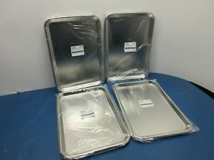 Lot Of 4 Graham 3262 Stainless Steel Instrument Tray 15 1 8 X 10 X 5 8