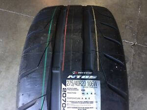 New Tires Nitto P275 40r20 Summer Tires