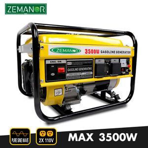 Gasoline Generator 3500w Pure Sine Wave Inverter Portable Single phase 110v
