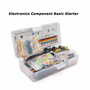 Electronic Component Basic Starter Kits 65 Jumper Wire Buzzer For Arduino Uno