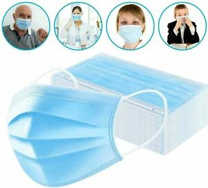 Face Mask Mouth And Nose Respirator Safe Protector Cover Lot 10 20 30 40 50 Pc