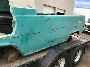 1961 67 Used Ford Econoline Pickup Drivers Side Rear Quarter Panel
