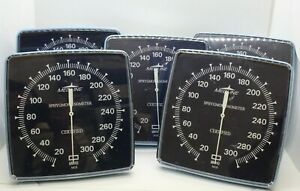 Medline Sphygmomanometer Aneroid Bp Meter W Wall Mounting Plate Lot Of 5