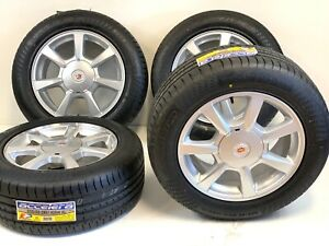 Cadillac Cts 08 15 Used Oem Wheels 17x8 Factory Silver 17 Original Rims Tires