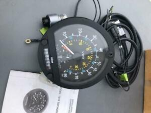 Tach Meter Speed Clock New Tachograph Speed Meter Vdo Complete Kit Mph Rpm S