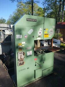 Monster Commercial 36 Tannewitz Model Tr3613m Vertical Bandsaw Veritable Speed