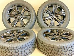 20 Ford F150 Expedition Set 4 04 19 Black Factory Oem Wheels Rims Tires Offroad
