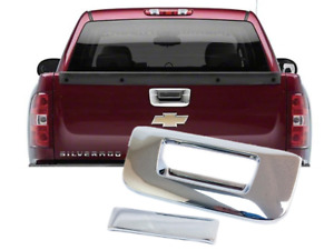 Chrome Tailgate Handle Cover Covers Fit 2007 2013 Chevy Silverado Gmc Sierra