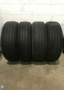 4x Take Off P235 55r18 Bridgestone Ecopia H L 422 Plus 10 32 Tires