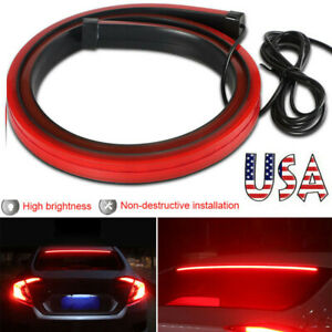 40 Roofline Led Third High Brake Stop Tail Light Strip Above Rear Windshield