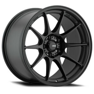 4 New 19x9 5 Konig Dekagram Black Semi Matte Wheel Rim 5x114 3 Et35 Dk99514355