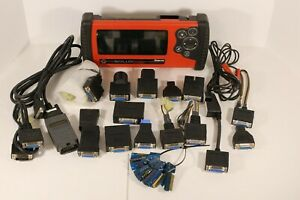 Snap on Solus Auto Scanner V 13 4 With Personality Keys And Adapters