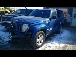 2010 Jeep Liberty Right Passenger Front Door Assembly Blue Paint Code Pbs 16318