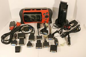 Snap On Solus Pro Auto Scanner V 12 4 With Personality Keys And Adapters