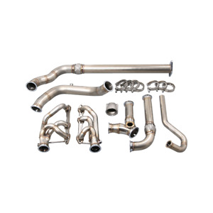 Cxracing Turbo Manifold Downpipe Kit For 94 04 Chevrolet S10 Truck 4 3l Vortec