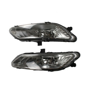 Bumper Fog Lights Driving Lamps With Halogen Lamp For 2017 2018 Ford Fusion