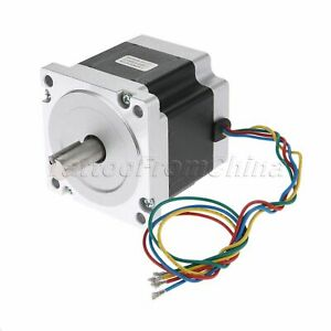 1pc Hybrid Stepper Motor Nema34 1 8 5 5a 2 phase 4 wires For Engraving Machine