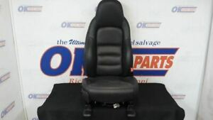 07 Chevy Corvette C6 Front Right Passenger Power Seat Black Leather