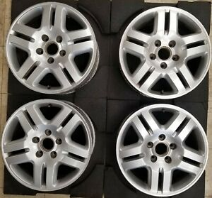 15 Volkswagen Touareg 2003 2009 Factory Oem Set Of 4 Silver Rim Wheel 69800
