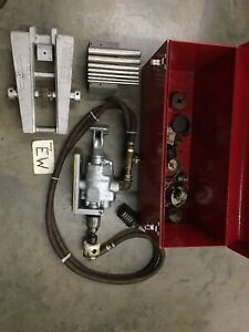 Fend Industrial the Hole Thing Hole Drilling Pipe Tool W Pneumatic Air Drill