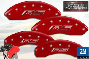 2019 2020 Chevy Blazer rs Front Rear Red Mgp Brake Disc Caliper Covers 4pc